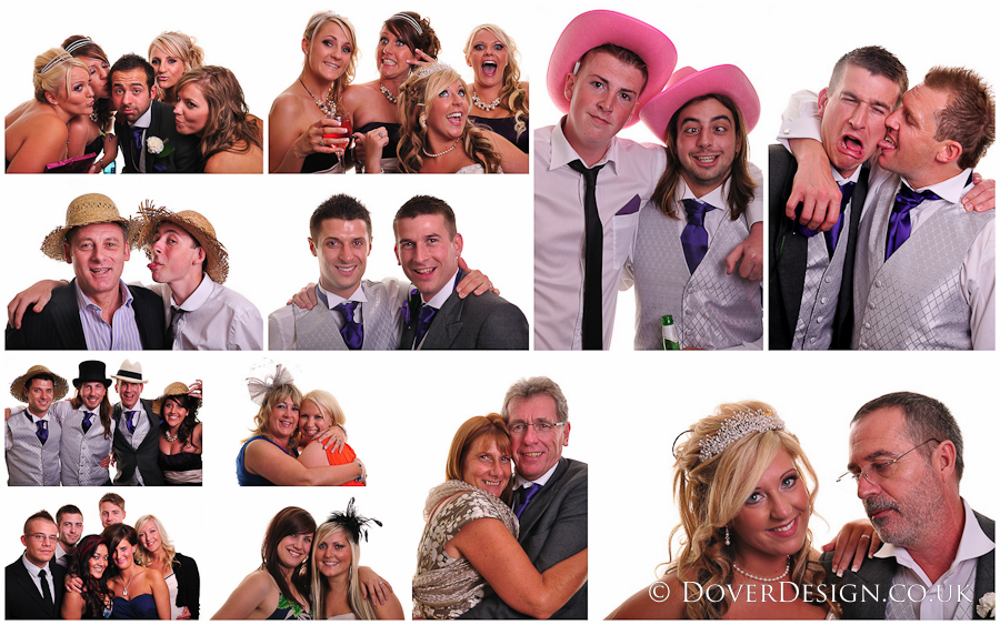 kent wedding photographers photobooth