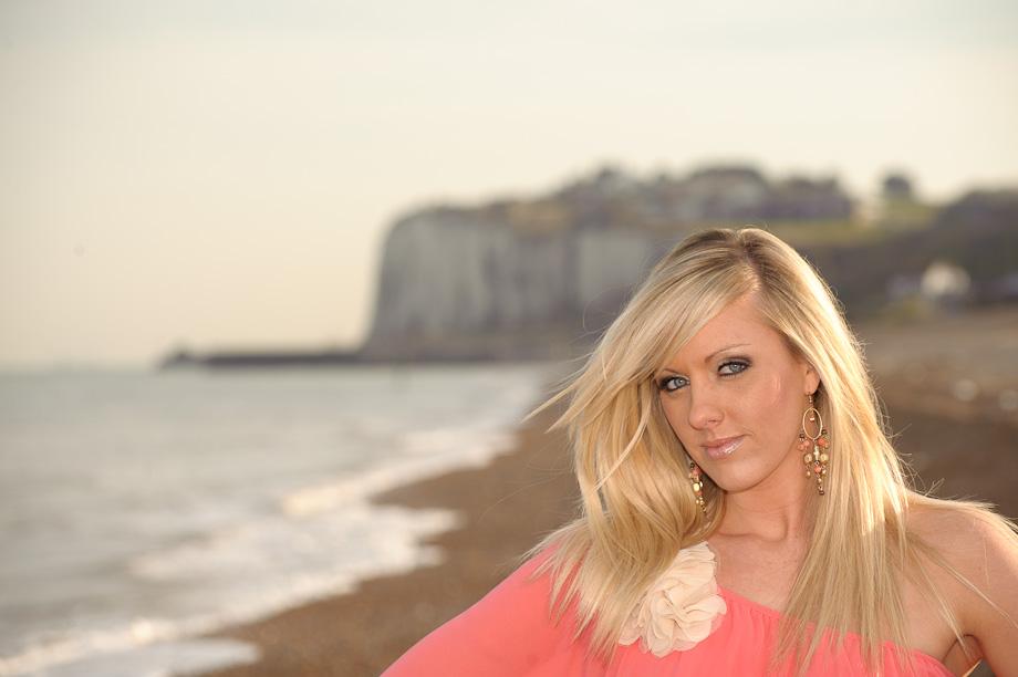 Kingsdown beach photo shoot