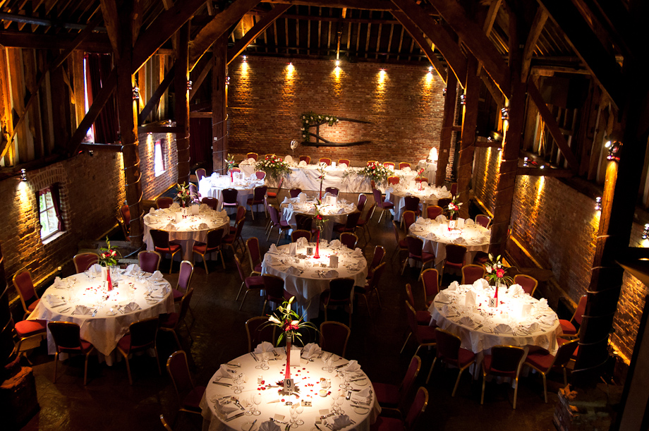 Tables - Cooling Castle by Kent Wedding Photographer