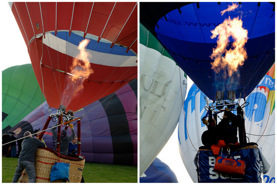 balloons take off from lydden