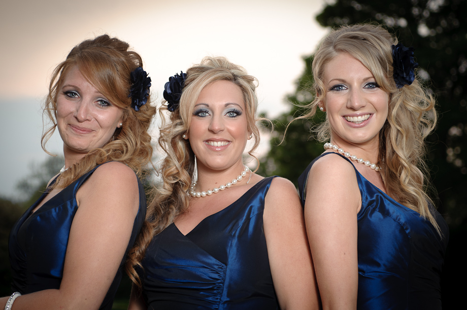 Pretty Bridesmaids at Winters Barn