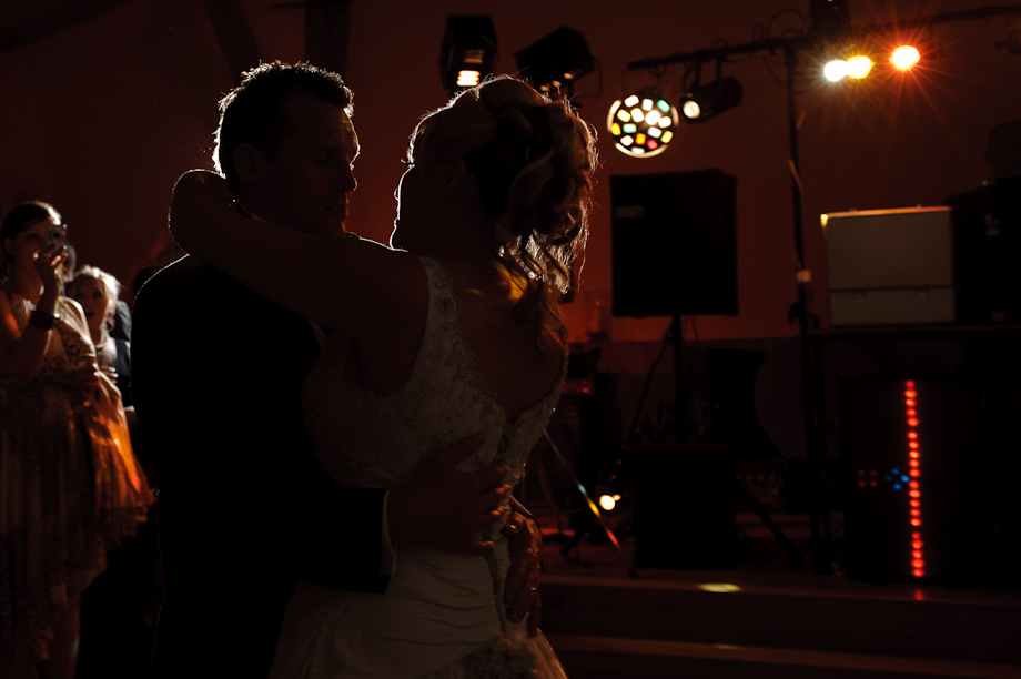 First Dance at Winters Barn