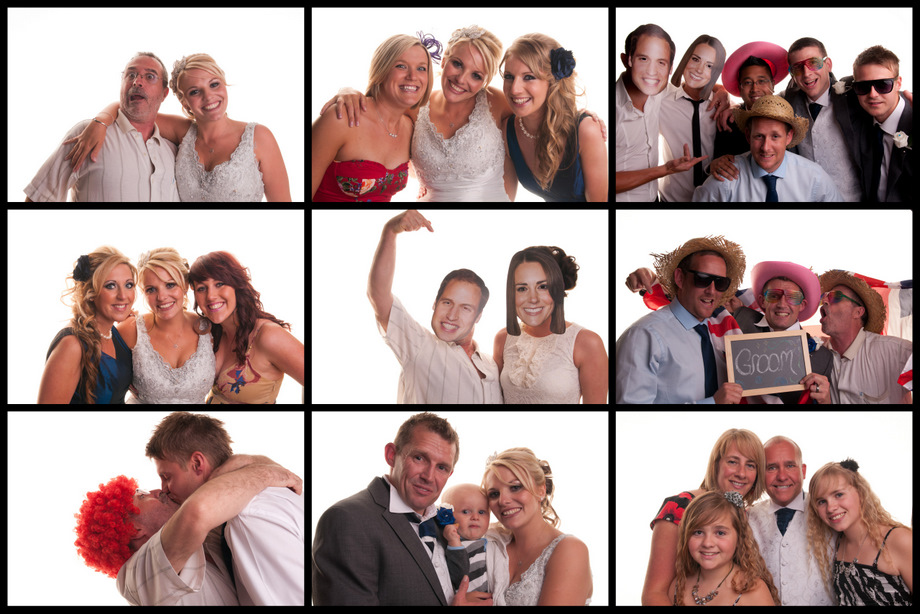 Winters Barn Wedding Photography Photobooth