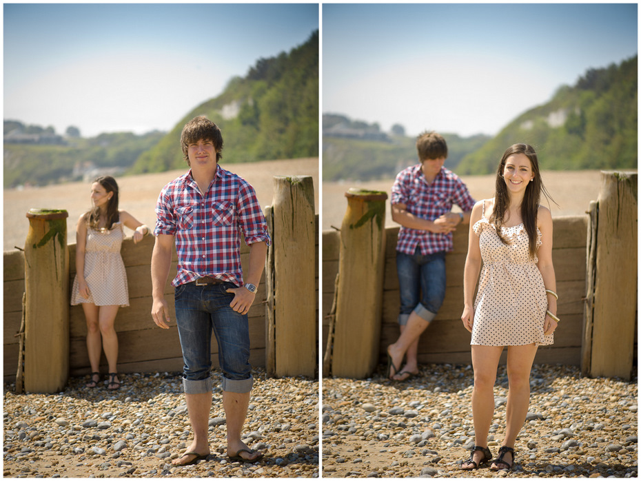 Pre-wedding photoshoot beach kent