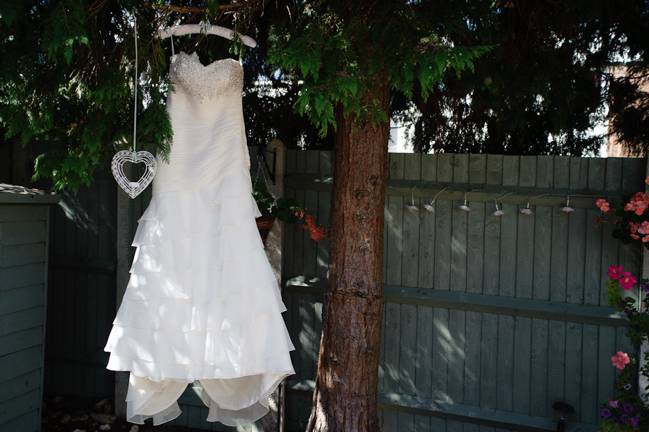 Wedding Dress in a tree Wedding Photogaphy