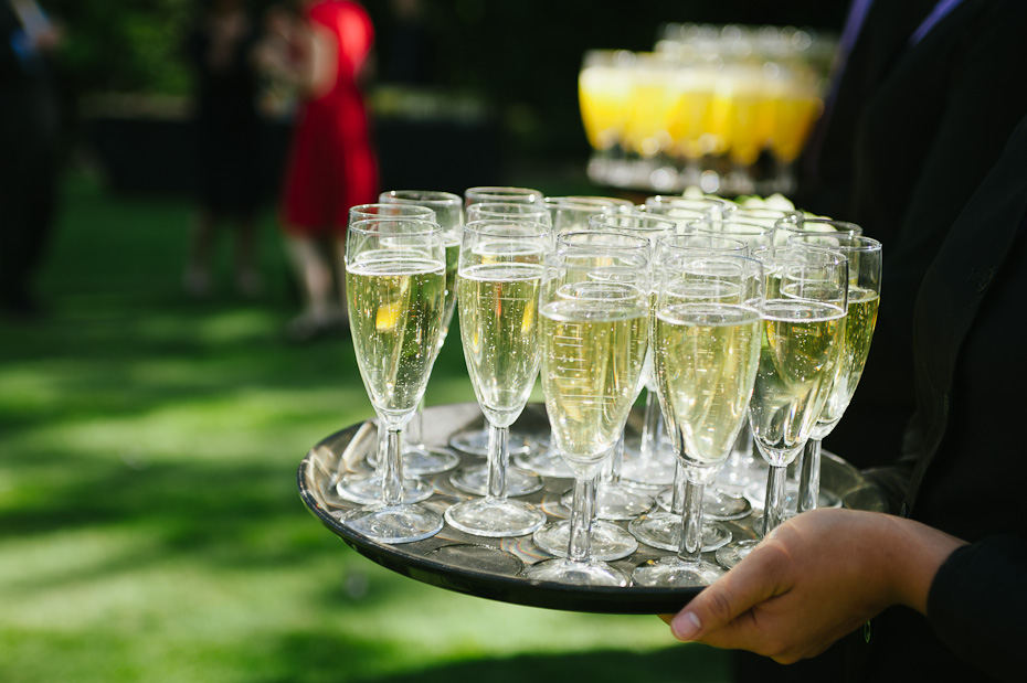 Cheers - Rowhill Grange Wedding Photogapher