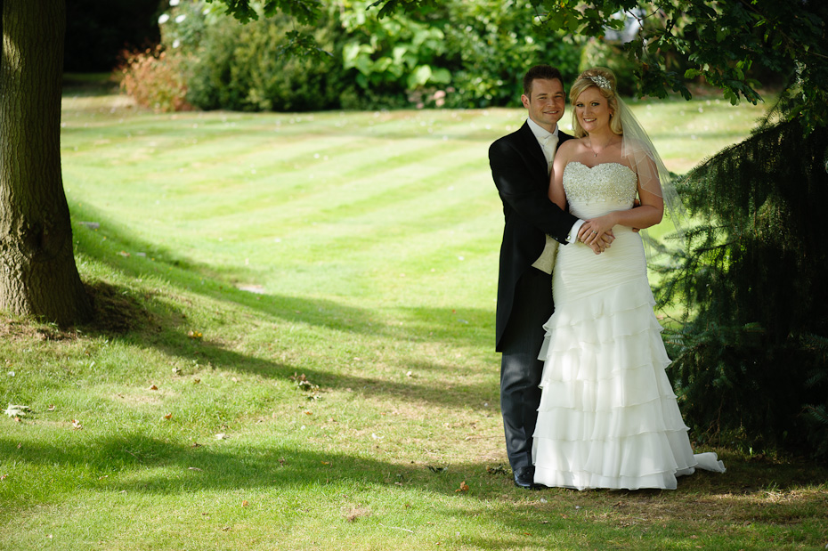 Bride and Groom - Rowhill Grange Wedding Photogapher