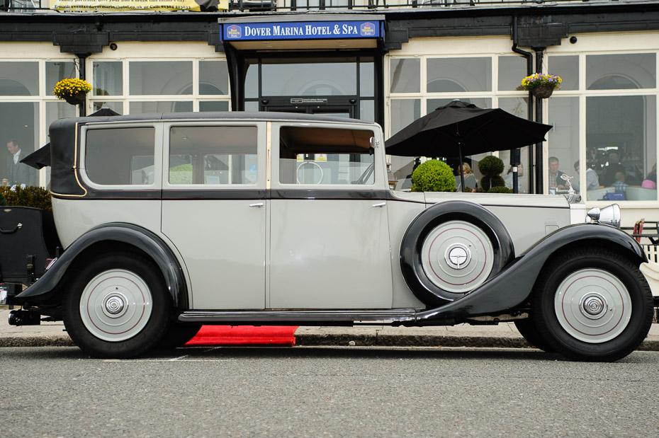 Wedding Car - Wedding Photography at Dover Marina Hotel