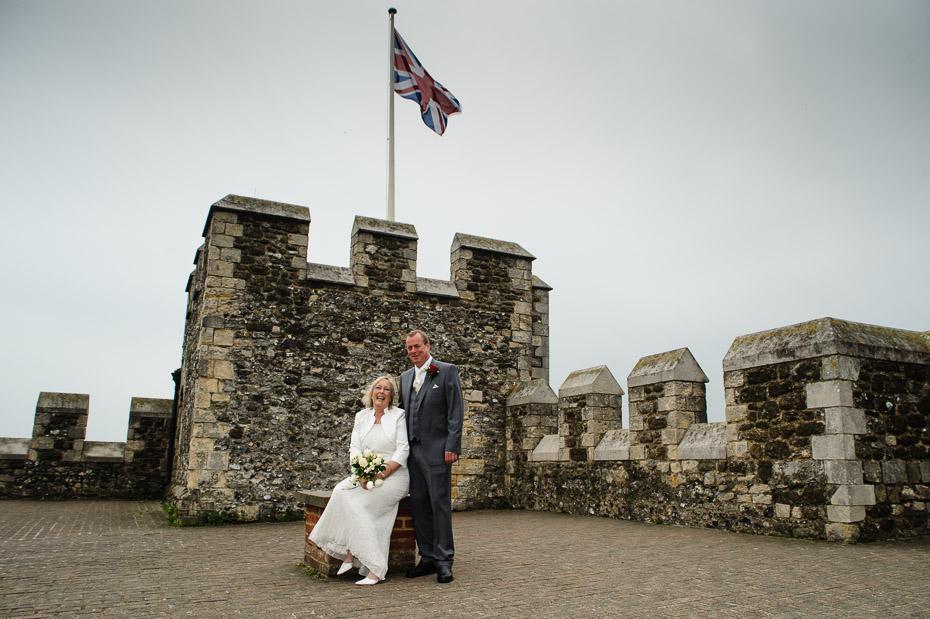 Wedding Photographer Dover Castle