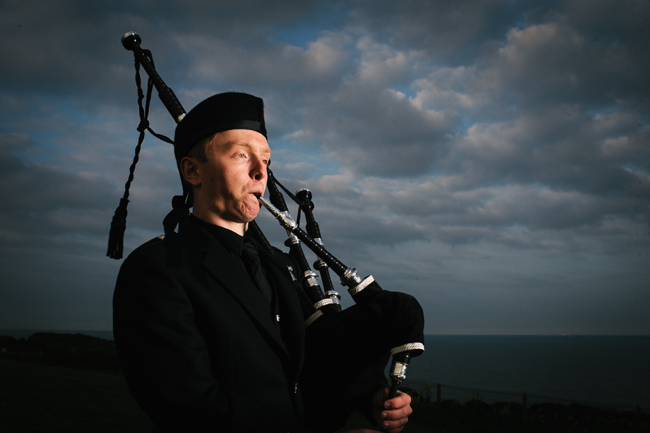 Bagpipes English Channel