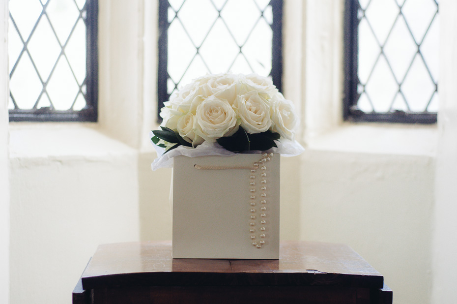 Bridal Bouquet - Eastwell Manor Wedding Photography