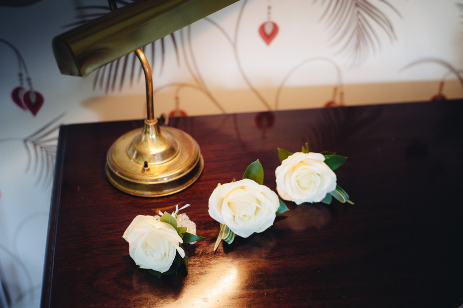 Wedding Buttonholes - Eastwell Manor Wedding Photography
