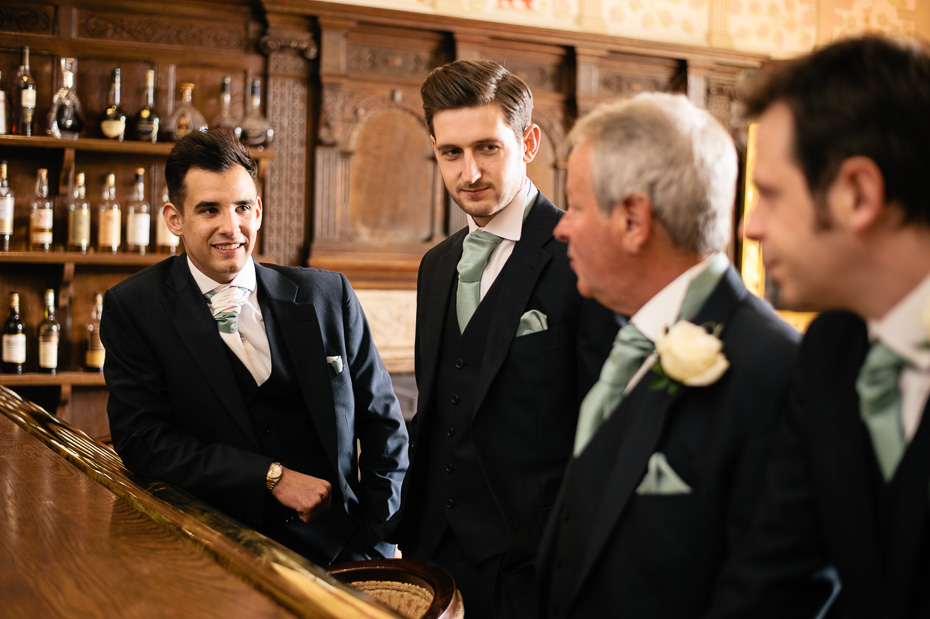 Groomsmen - Eastwell Manor Wedding Photography