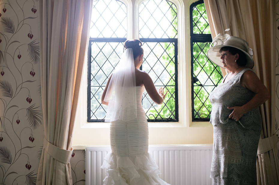 Bride - Eastwell Manor Wedding Photographer