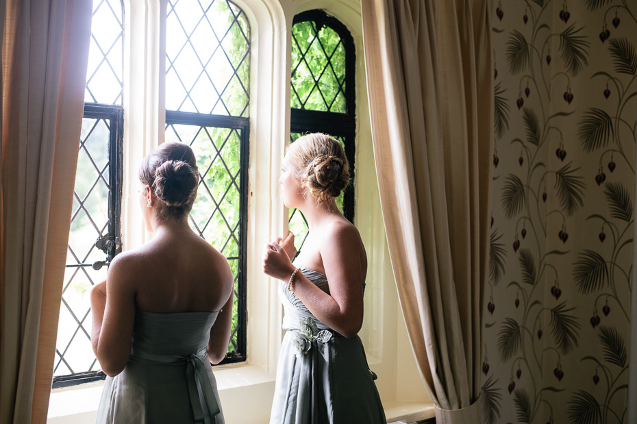 Bridesmaids  - Eastwell Manor Wedding Photographer