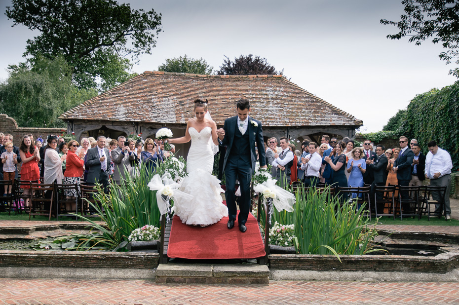 Wedding Ceremony - Wedding Photography at Eastwell Manor Ashford Kent