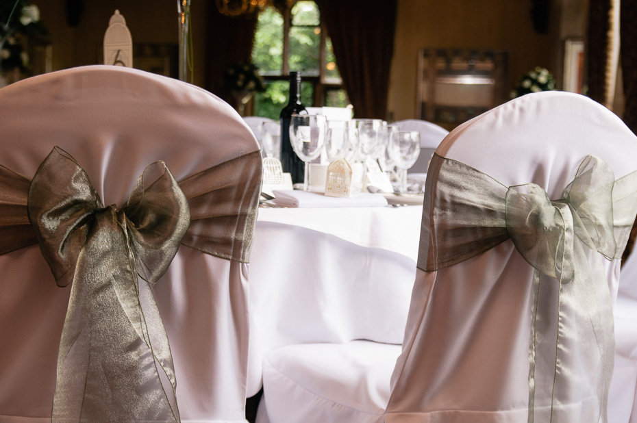 Wedding Breakfast at Eastwell Manor Wedding Venue