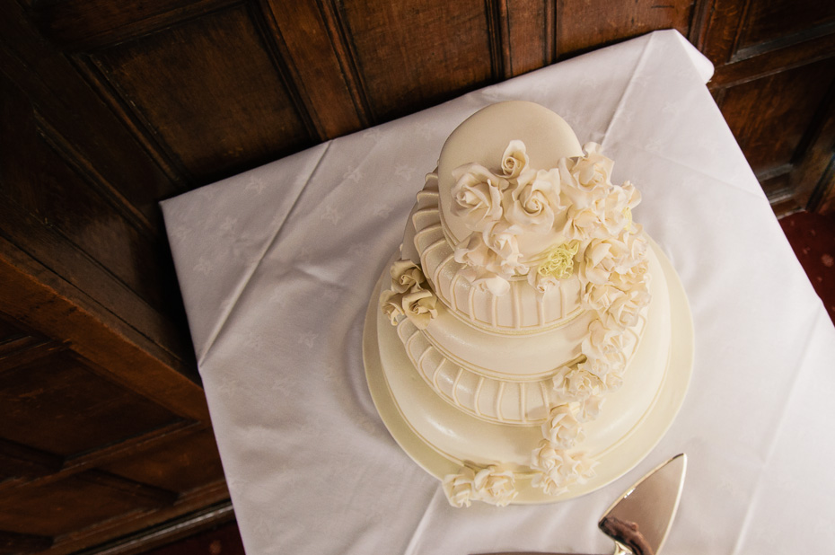 Wedding Cake at Eastwell Manor - Kent Wedding Photography