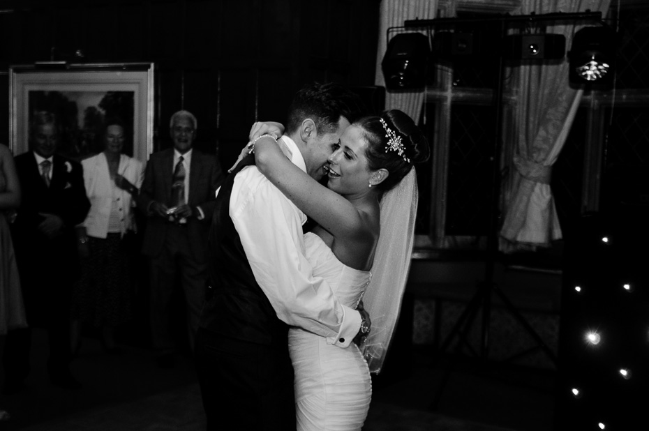 Wedding dancing at Eastwell Manor