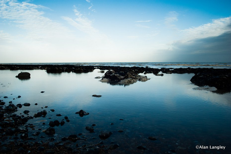 Rockpools on Kingsdown Beach - Landscape Photography