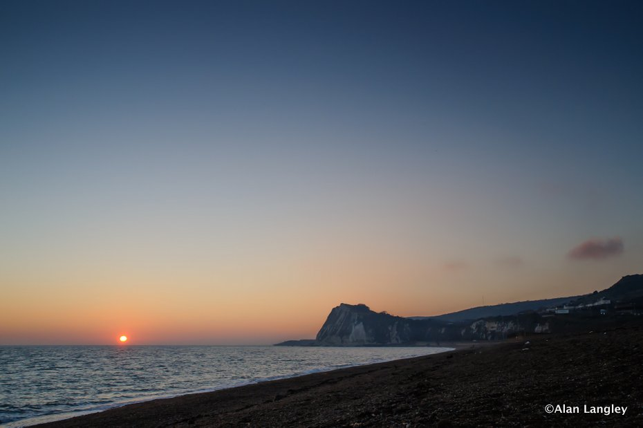 Dover Beach Sunset-2904
