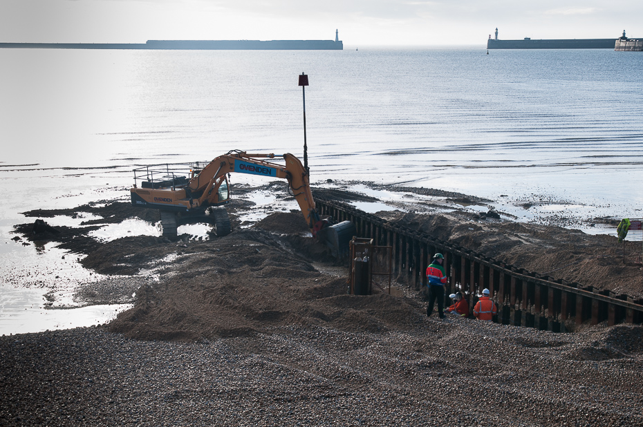 Dover Seafront groyne replacement