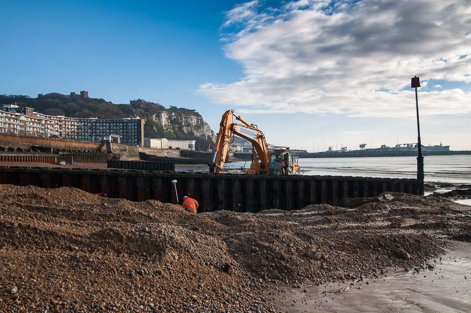 Dover Beach groyne replacement