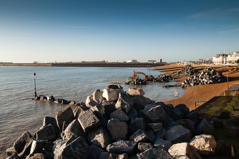 Dover Beach groynes-2609