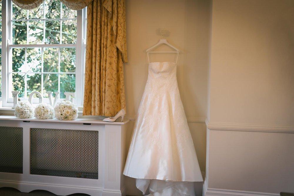 wedding dress at a Kent Wedding