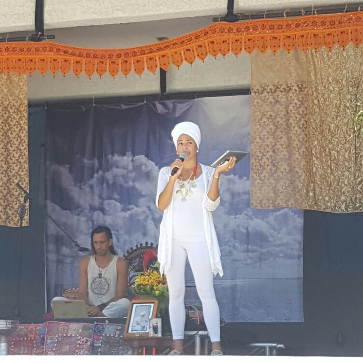 Emcee and Assistant Producer of the 2016 Miami Beach Kundalini Yoga Festival