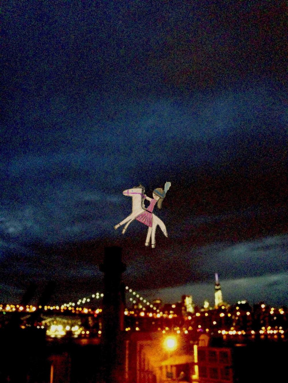 Williamsburg Bridge Princess