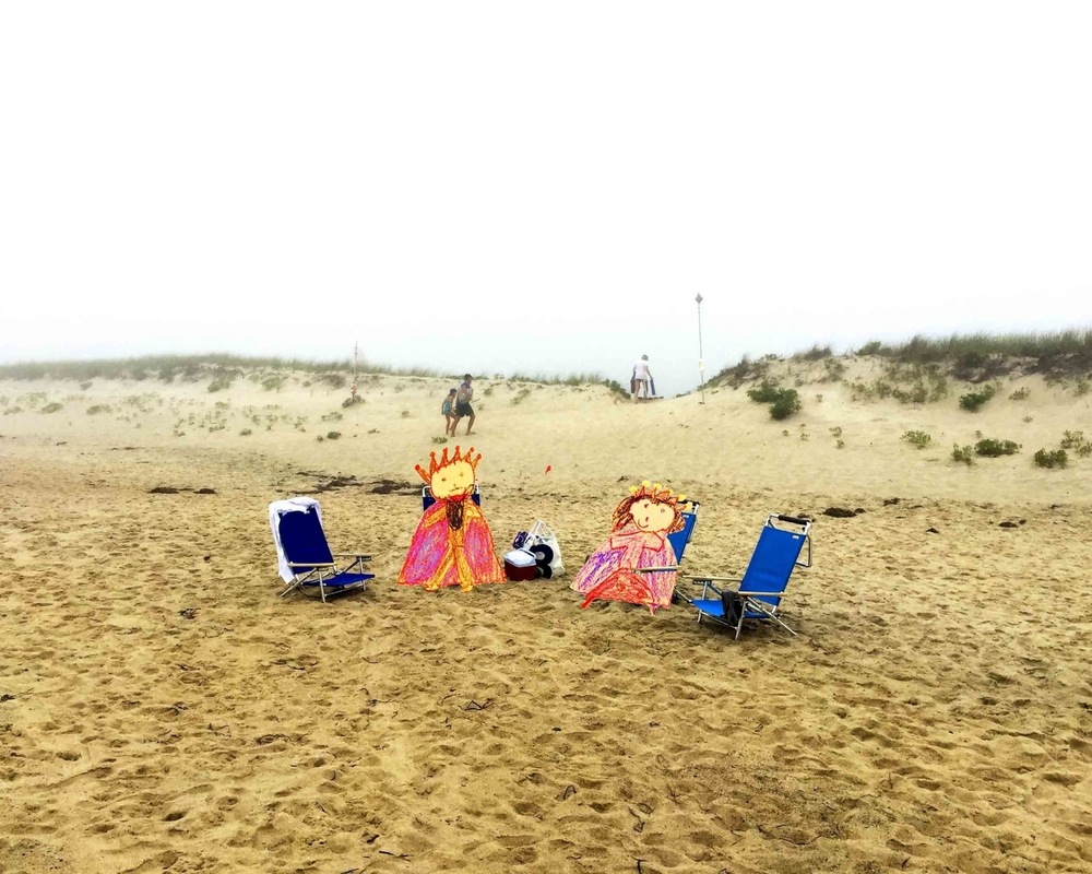 King & Queen at the Beach