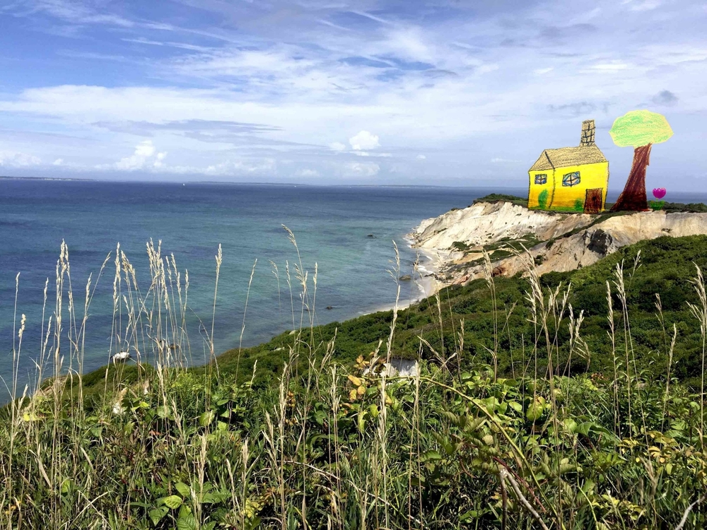 House on Aquinnah Cliff