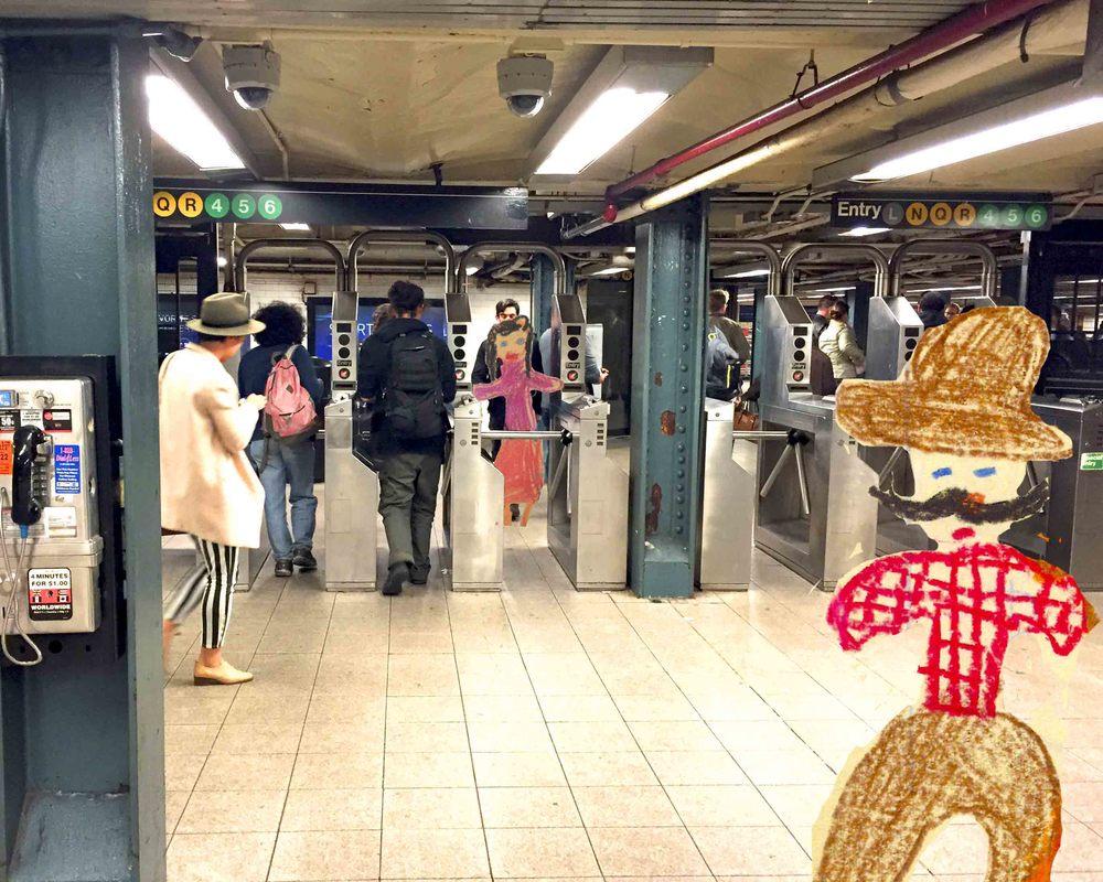 Subway Cowboy