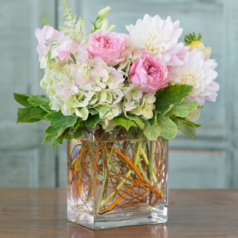 Spring Blush Gallery Flowers