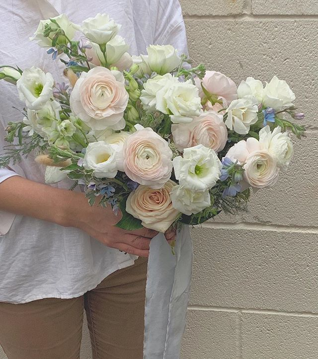 Gabriella's wedding bouquet. Congrats!