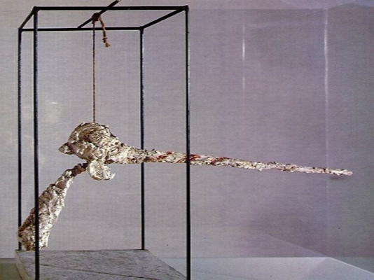 La Nez by Alberto Giacometti