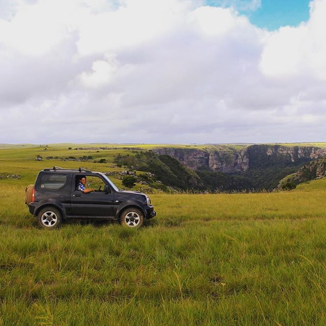 ⁣Watch out for the potholes in the Eastern Cape! ⁣ ⁣ #camping #safari #adventure #adventuretravel #adventures #africa #travel #travelblogger #travelphotography #travels #travelblog #instatravel #easterncape #suzukijimny #suzukisamuraiofsouthafrica #jimny #wildcoast #msikaba
