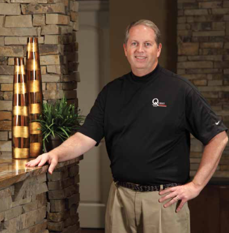 Tom Meginnis, Founder of Quest Custom Homes