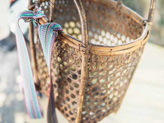 Old basket. . . . photo credit: @__wunwun__ . . #makutaay #rattan #craft #craftsmanship #kamaroan #hualien #taiwan