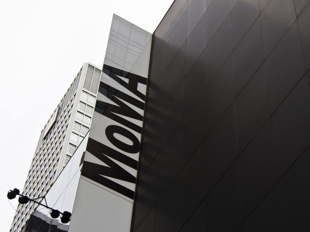 Woven Triangle Bag at NY MoMA. - Super glad to receive orders from MoMA ;)