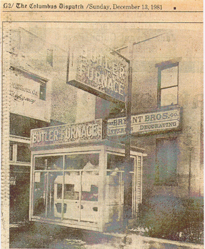 Est. 1904, Charles Lancaster Bryant (aka Great-great Grandpa) owned a stained glass and interior decorating business named Bryant Brothers Company. The storefront above was located in what is now downtown Columbus Ohio. Our creative roots run deep — it's just who we are!
