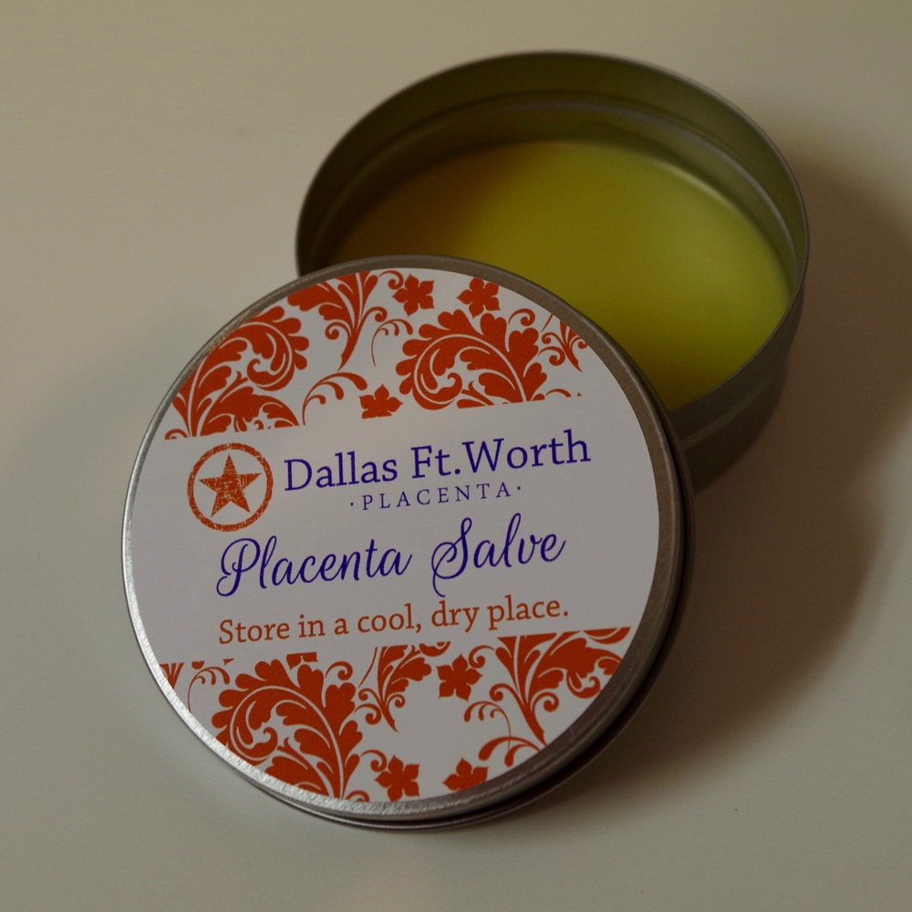 Salve Made from Encapsulated Placenta in Coppell