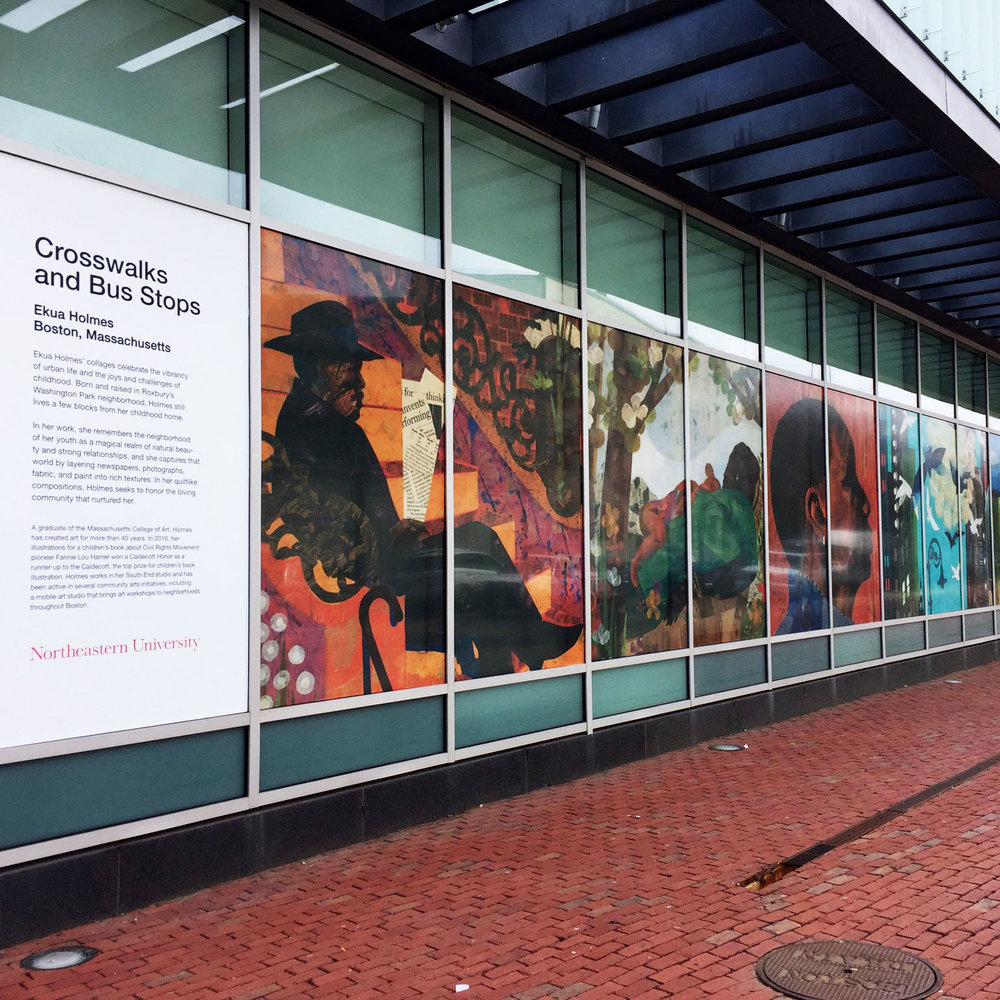 Public Art Projects, Northeastern University; environmental design