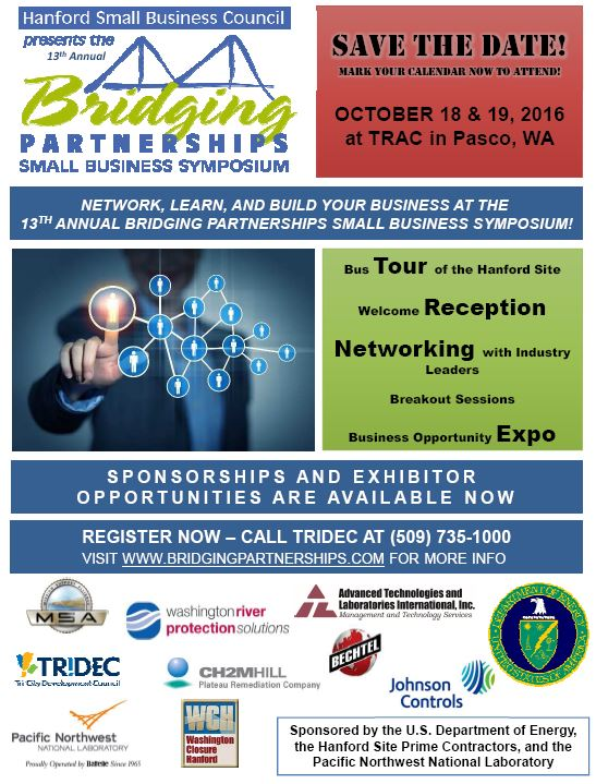 Bridging Partnerships Small Business Symposium
