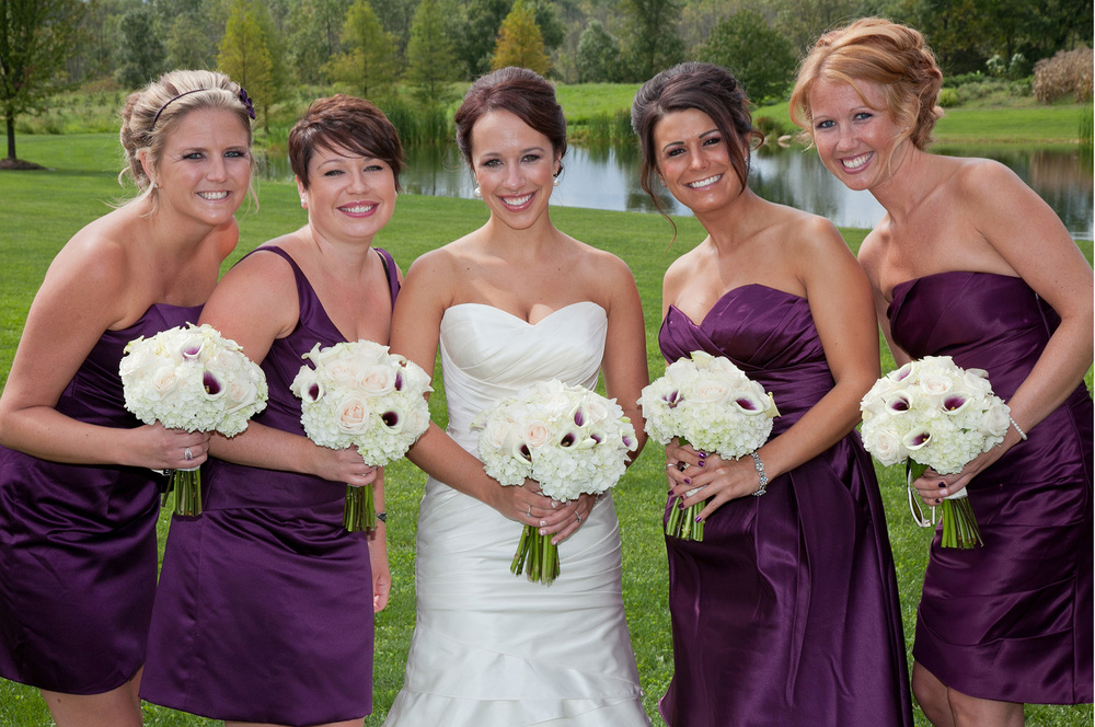 Wedding party Bouquets-Middlefield Ohio-Flowers by Emily.JPG