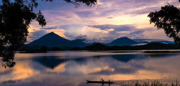@GorillaLinkTour at Lake Mutanda, Kisoro on November 17, 2015