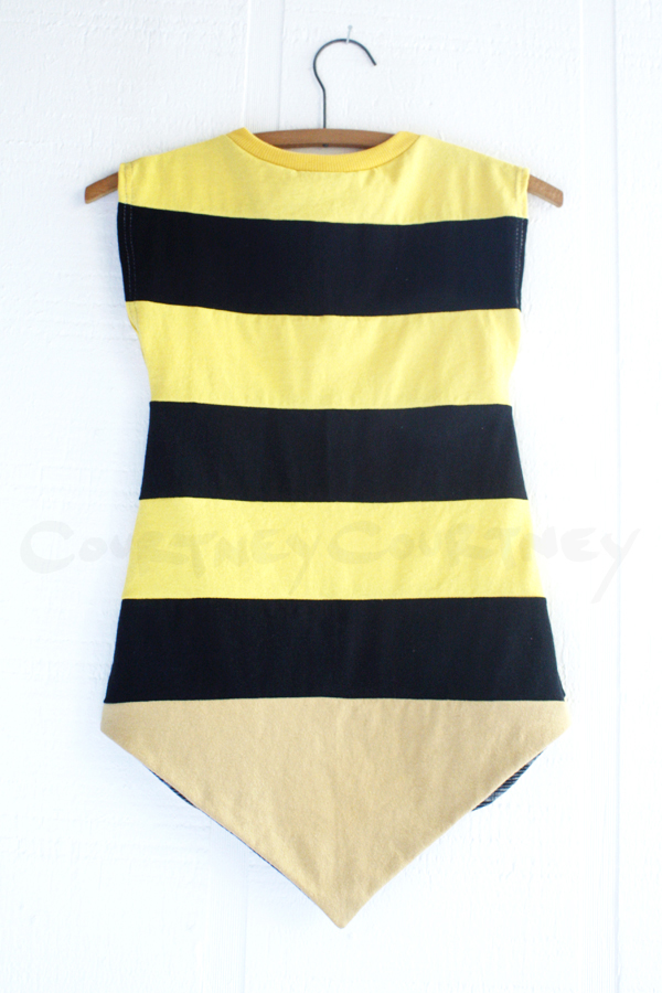 back ⅘ bee:stripe:capsleeve.jpg