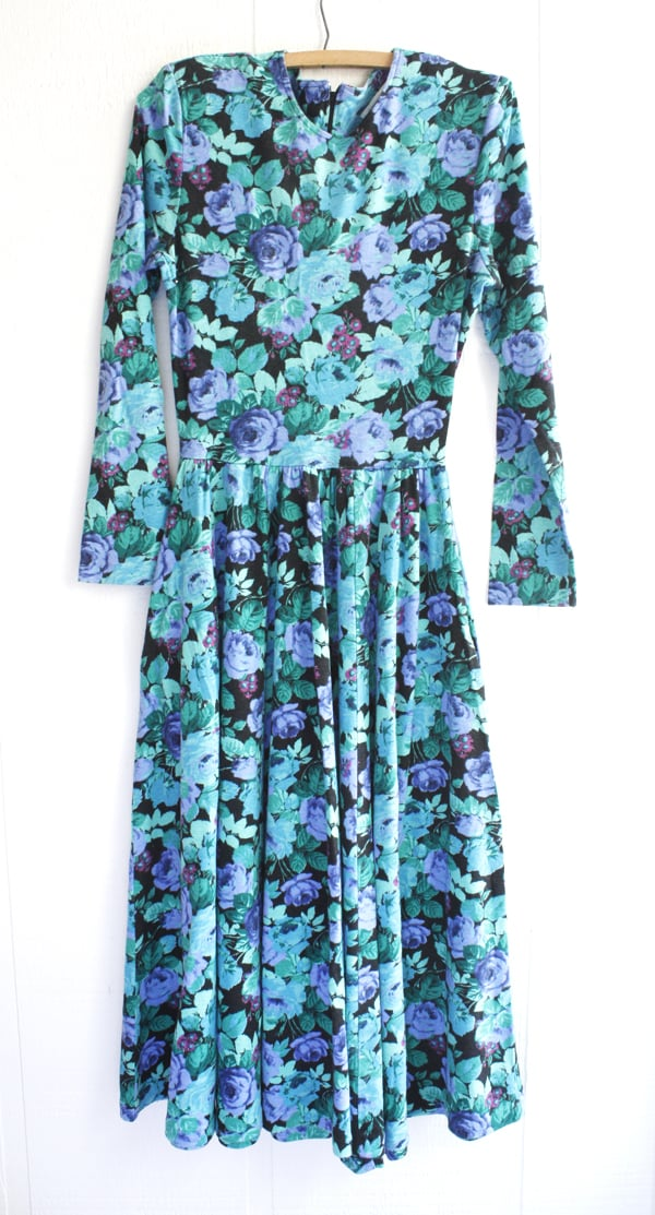 before blue floral express dress.jpg