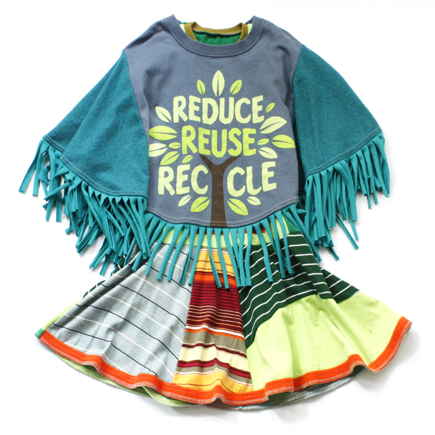layered reduce:reuse:recycle:fringe:poncho.jpg